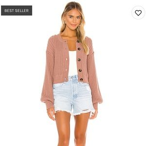 Free People All Yours Cardi, Sz. Med